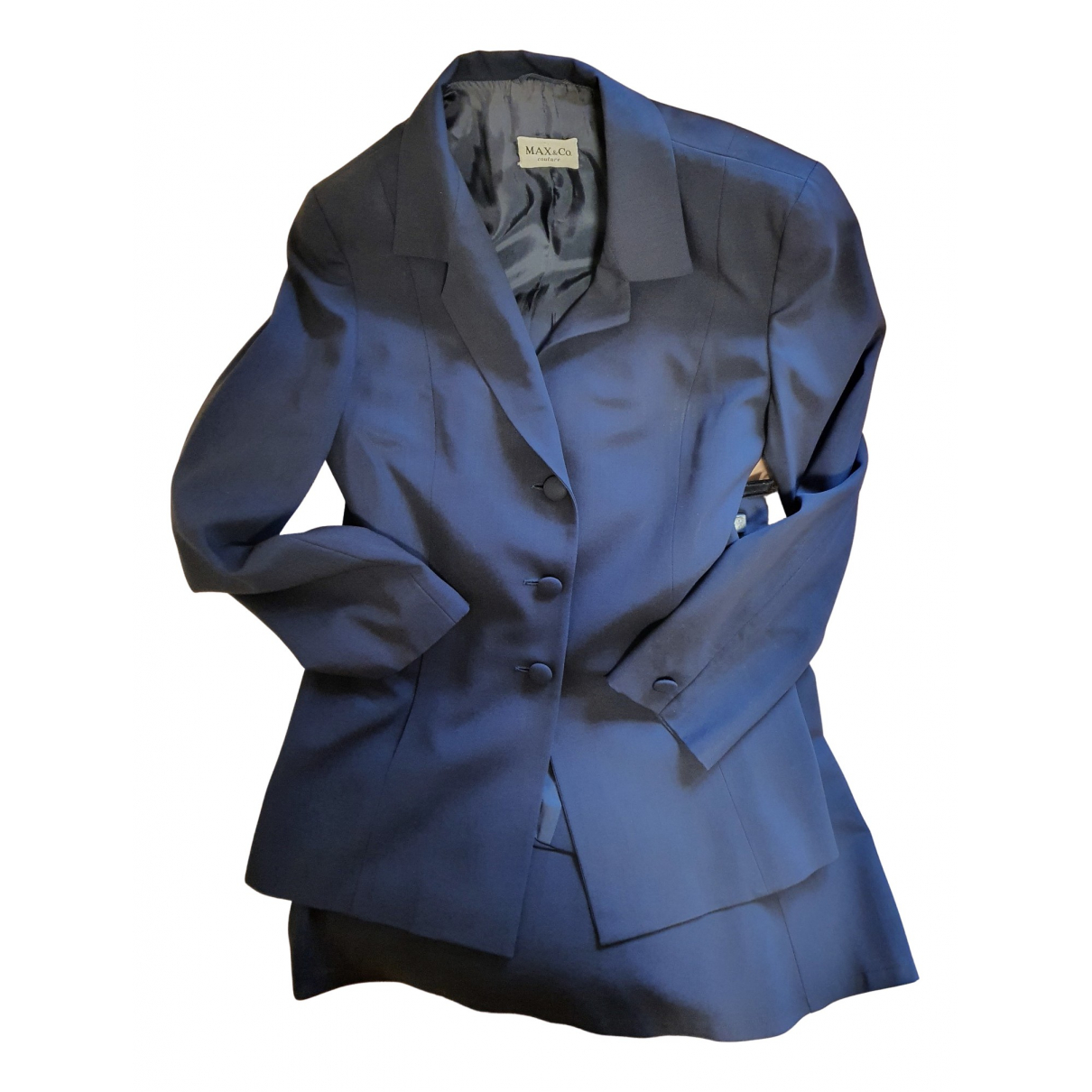 Max & Co - Veste   pour femme en laine - noir