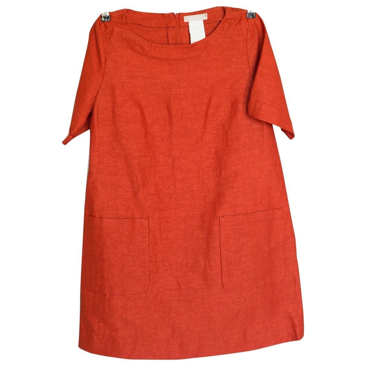 Max Mara s \N Orange Cotton dress for Women 44 IT