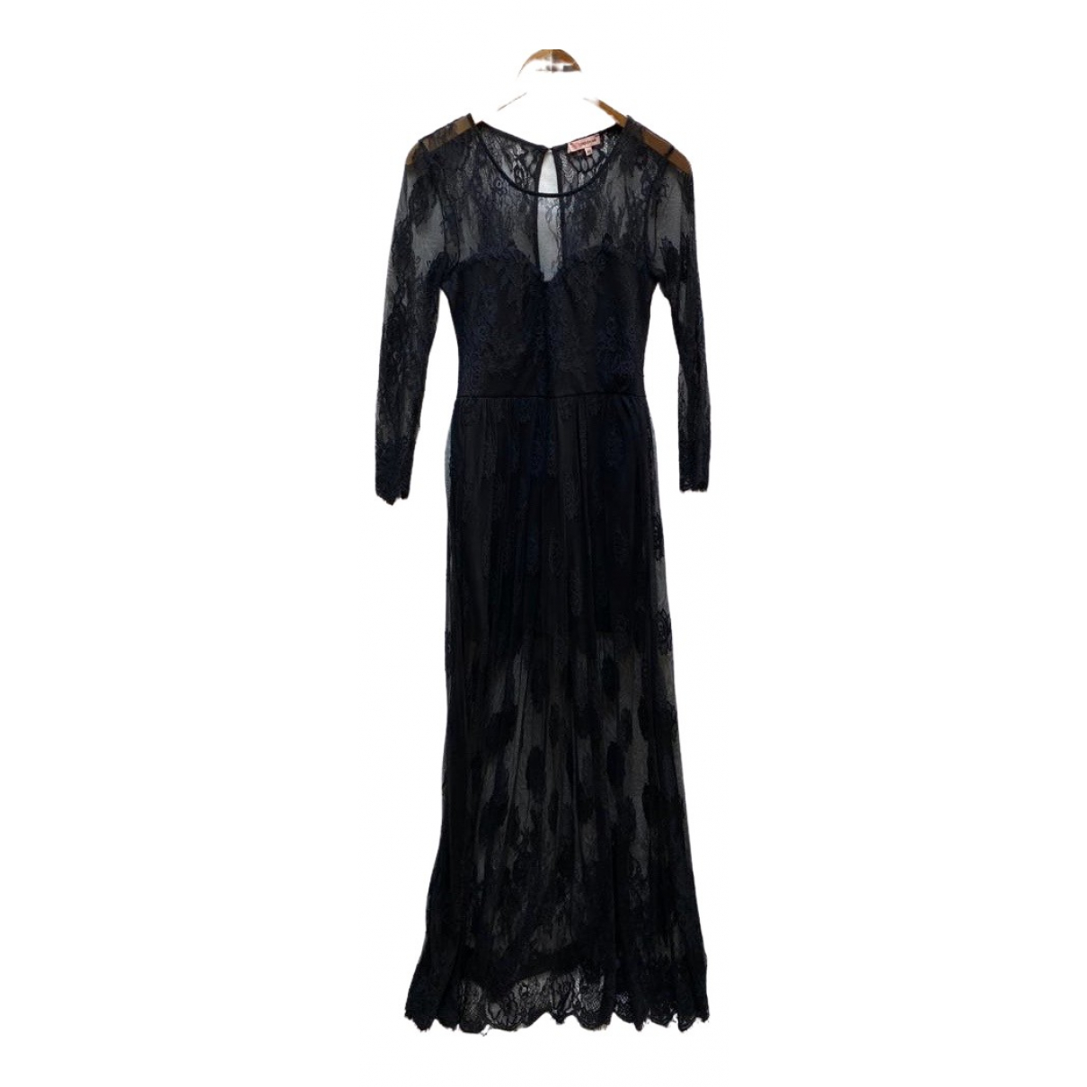 Non Signé / Unsigned \N Black Lace dress for Women 40 FR