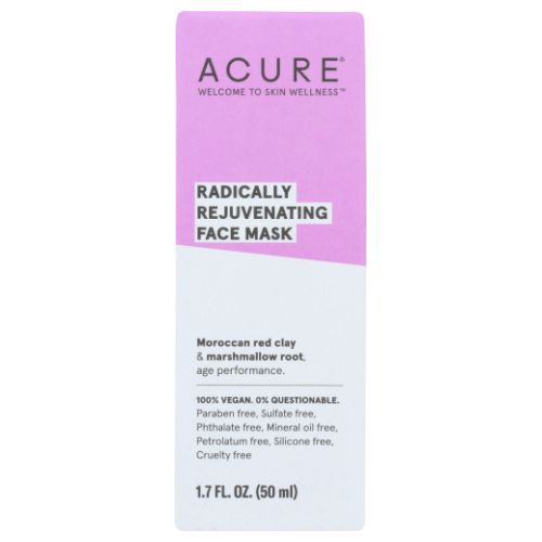Pore Clarifying Red Clay Mask 1.7 Oz by Acure