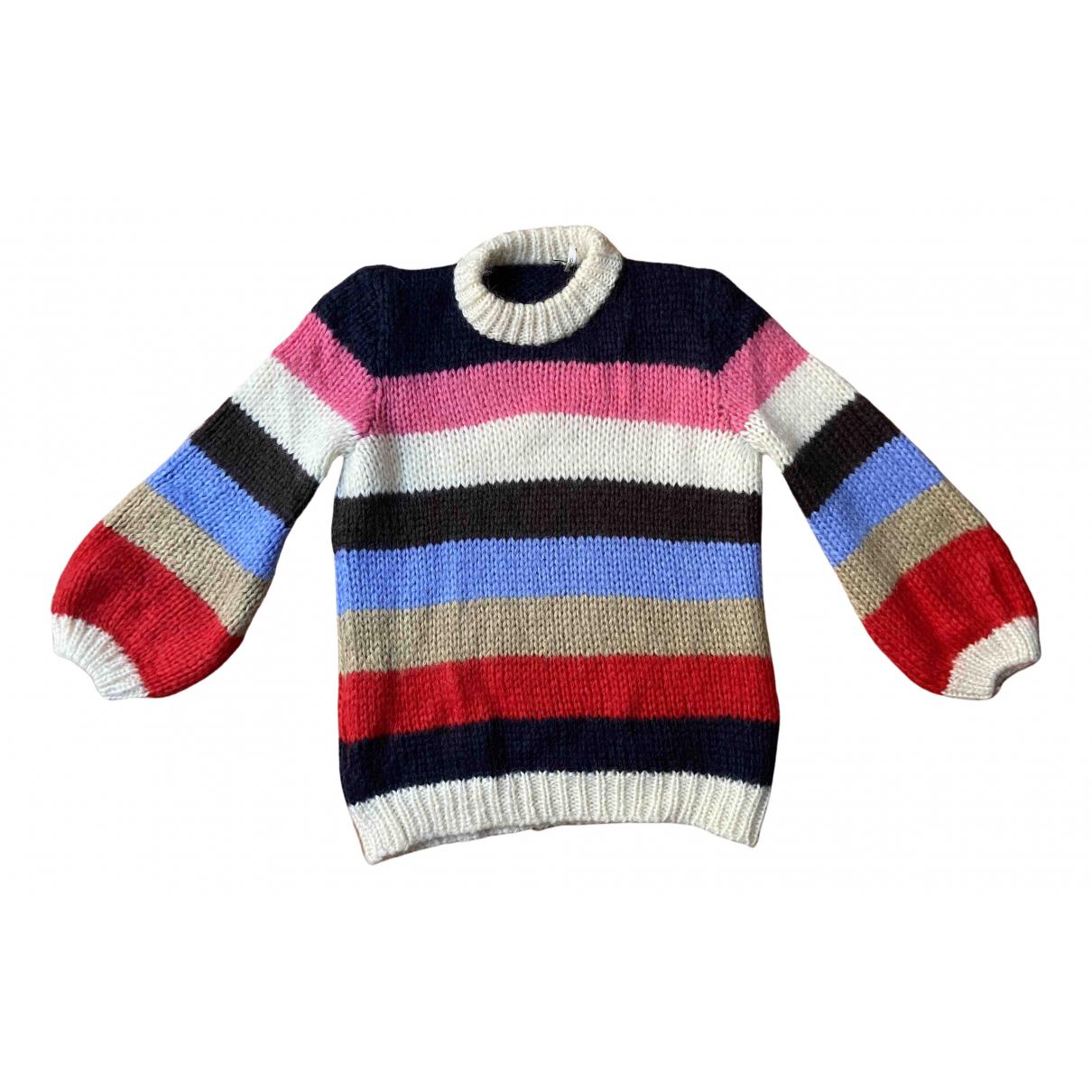 Ganni Fall Winter 2019 Multicolour Wool Knitwear for Women 40 FR