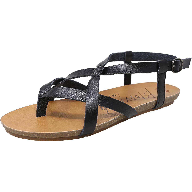 Blowfish Women's Granola-B Dyecut Black Ankle-High Sandal - 11M