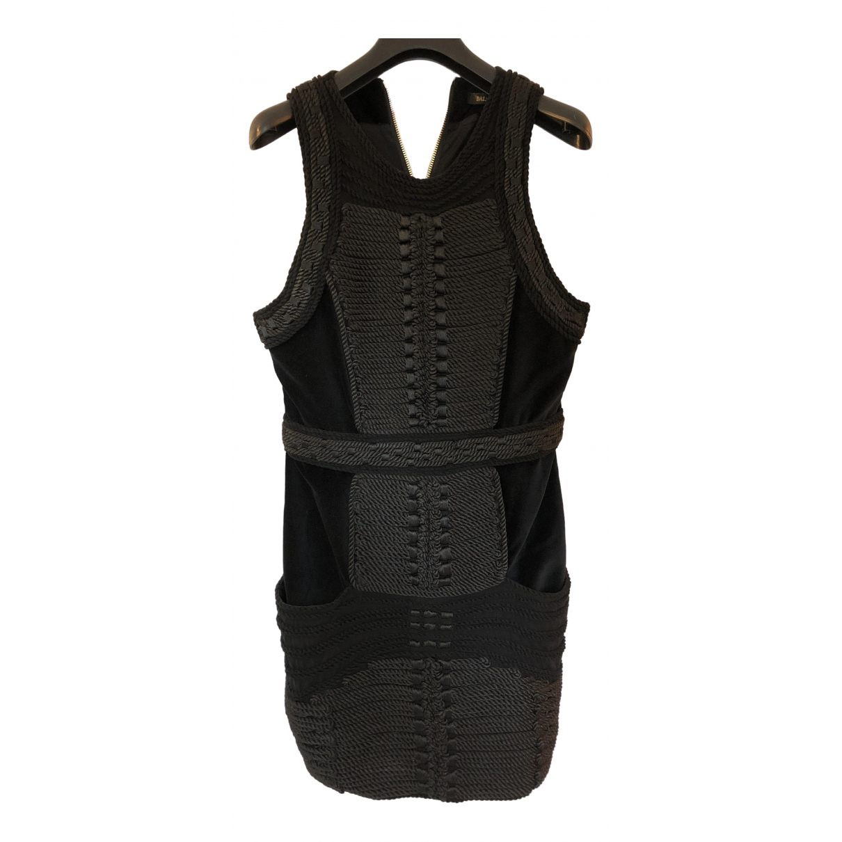 Mini vestido de Terciopelo Balmain For H&m