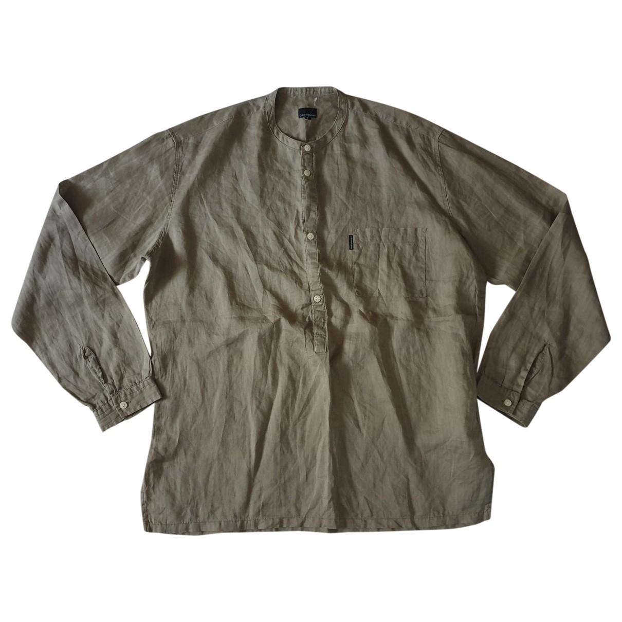 - Chemises   pour homme en autre - kaki