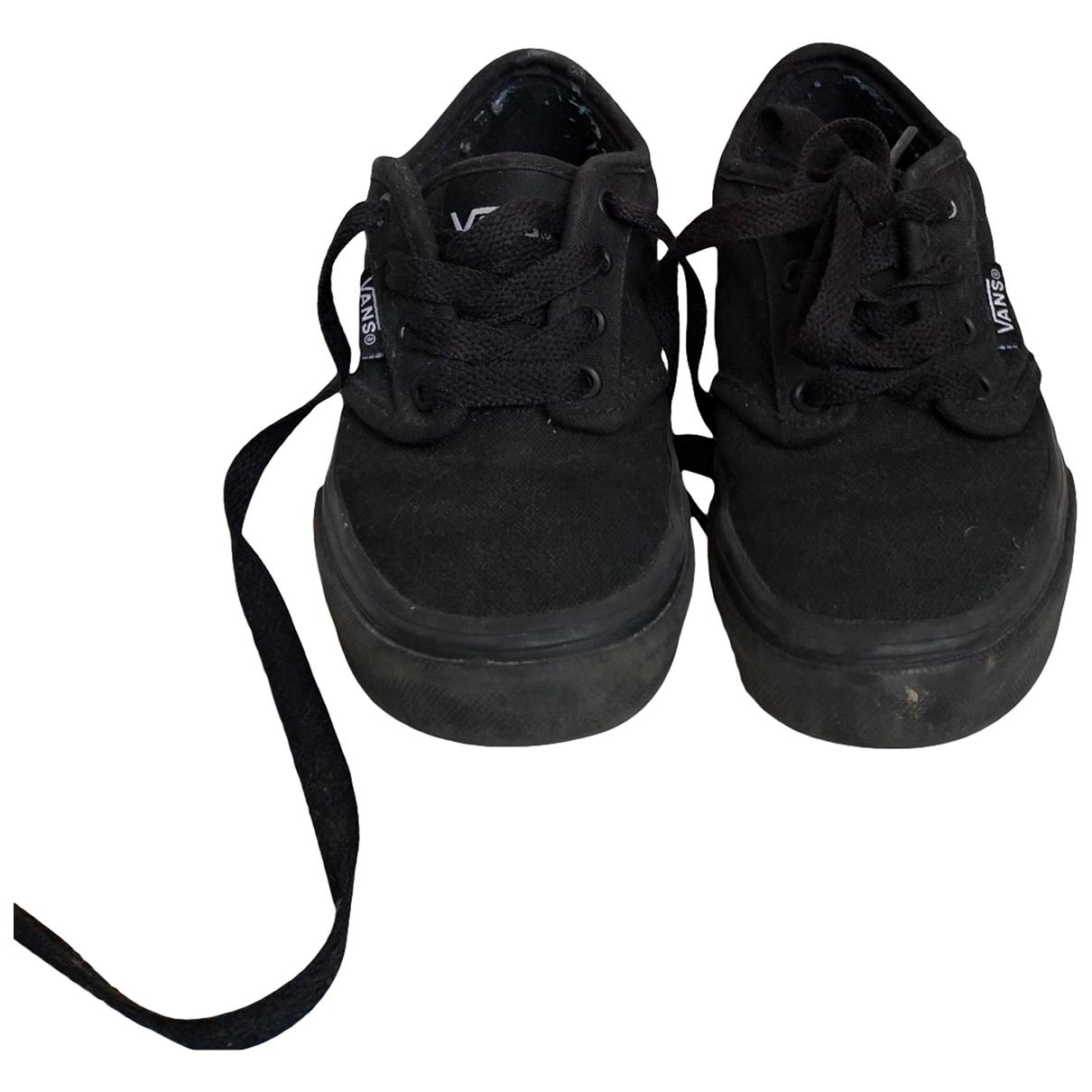 Vans - Baskets   pour enfant en toile - noir