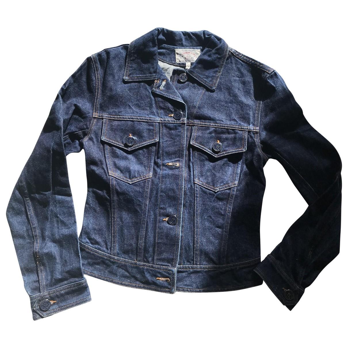 Armani Jeans \N Jacke in  Blau Denim - Jeans