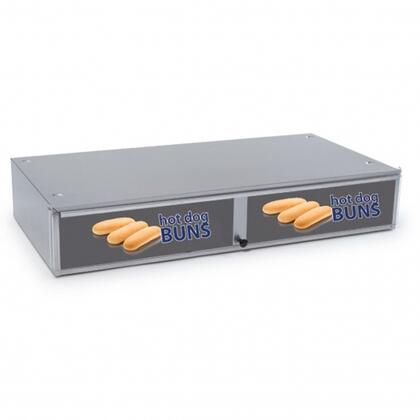 8045N-SBB Bun Box w/ 64 Bun Capacity and Hinged Doors  22 1/4 x 28 1/4 x 6 1/4