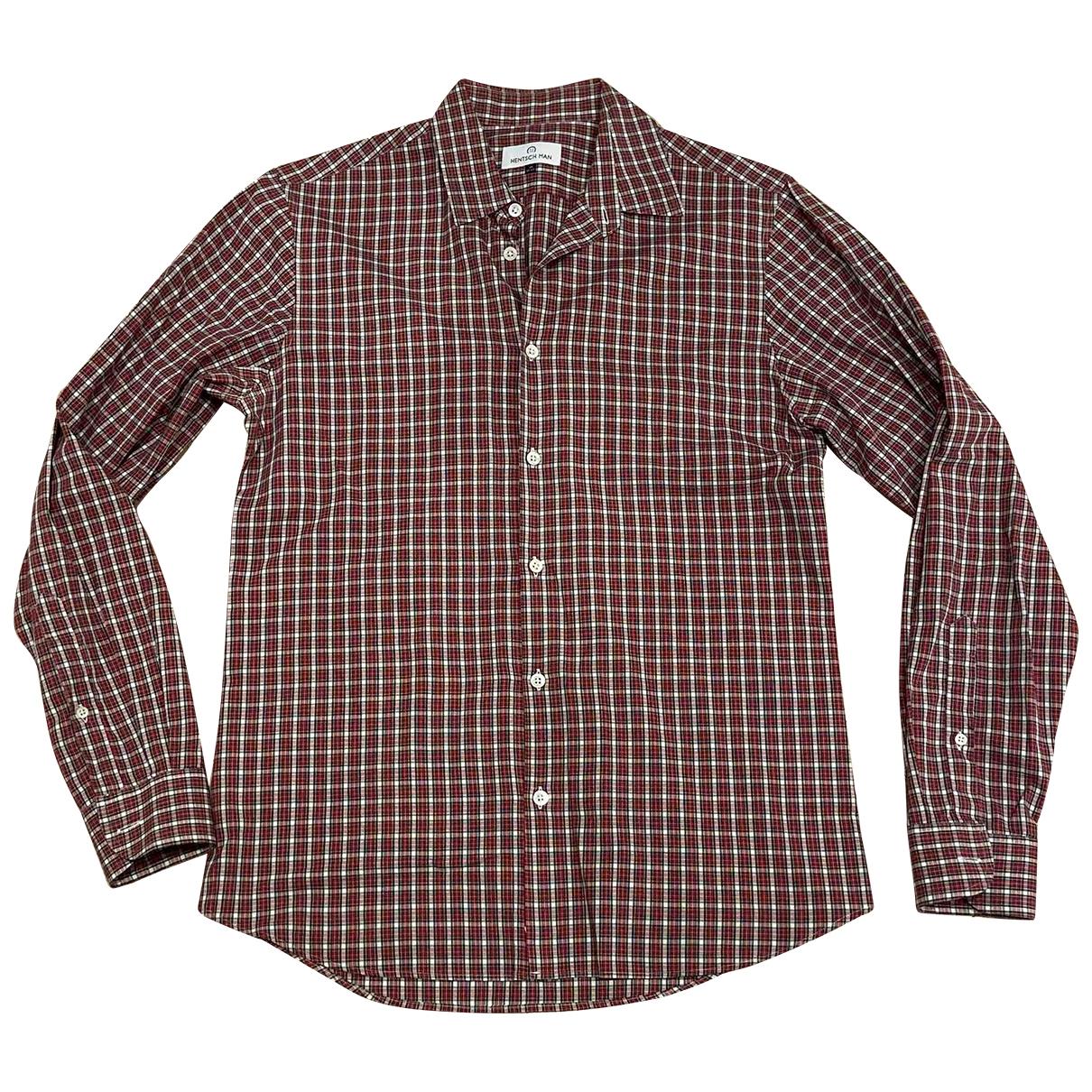Hentsch Man \N Hemden in  Bunt Baumwolle