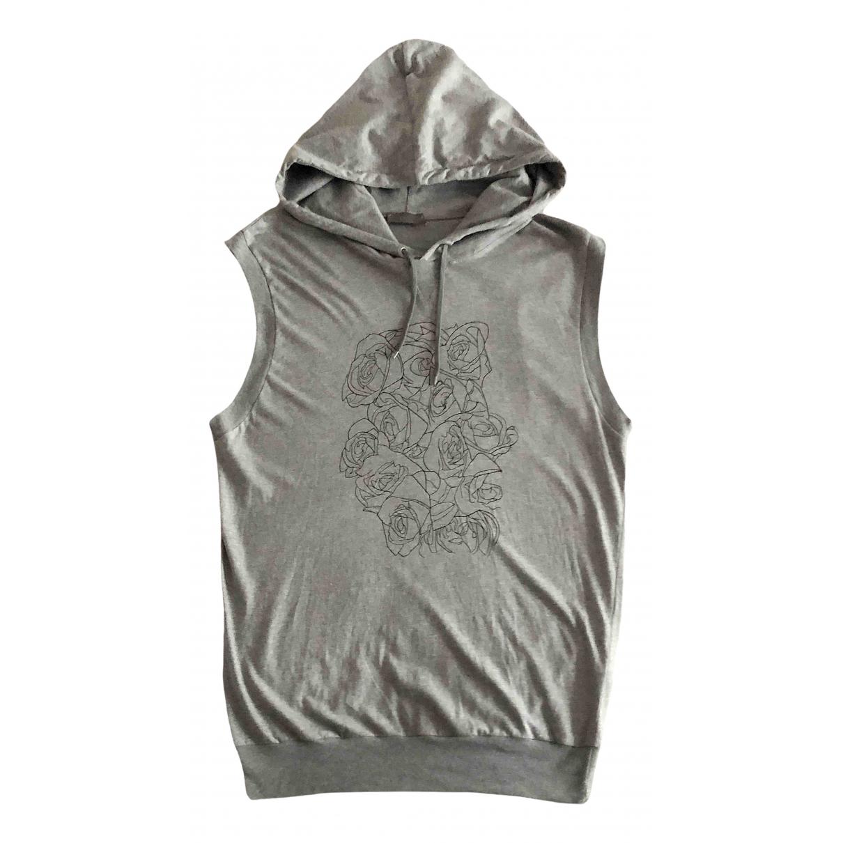 Dior Homme \N Pullover.Westen.Sweatshirts  in  Grau Baumwolle