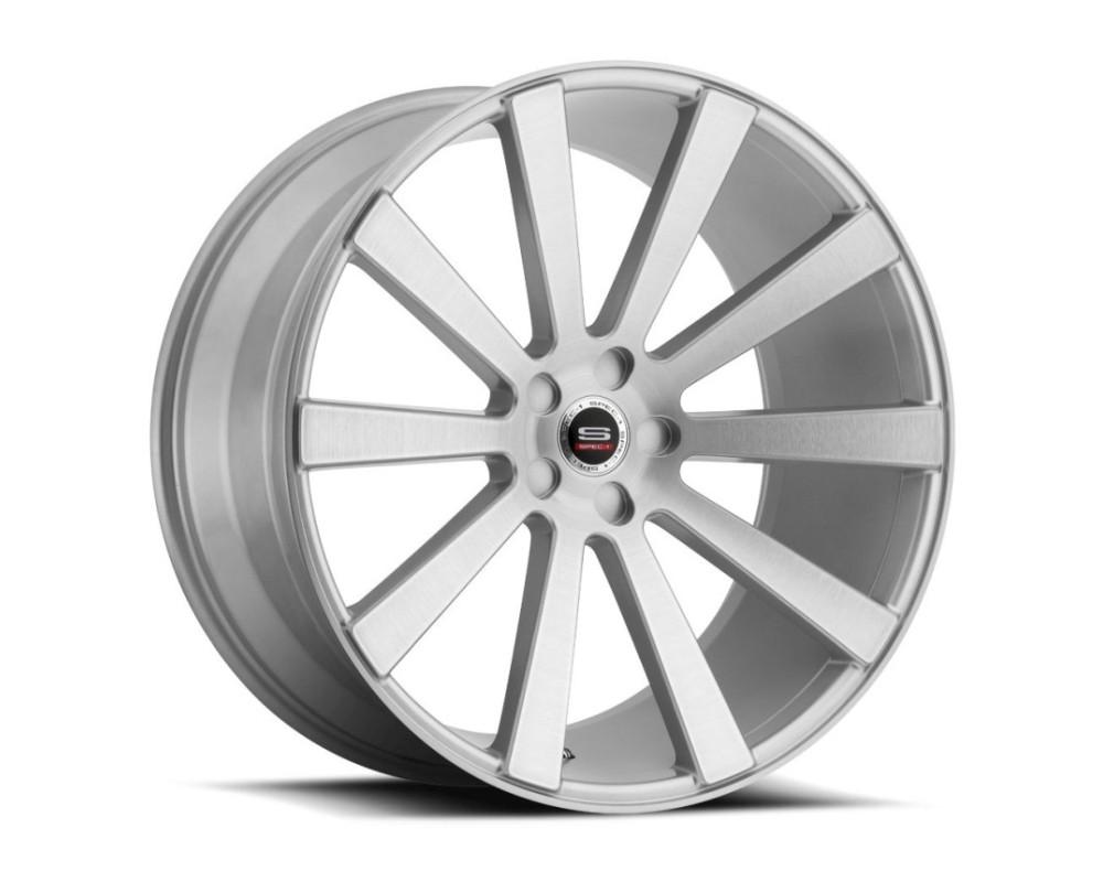 Spec-1 SPL-202 Wheel Luxury Series 20x10.5 5x114.3 42mm Silver Brushed