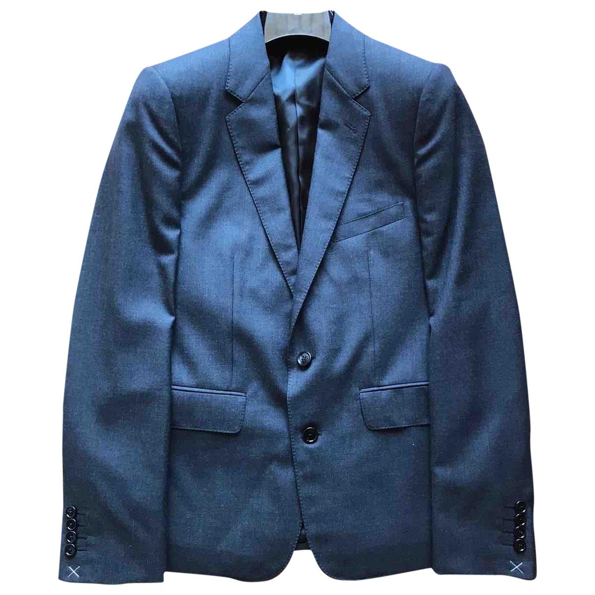 Celine \N Anthracite Wool jacket  for Men 48 FR