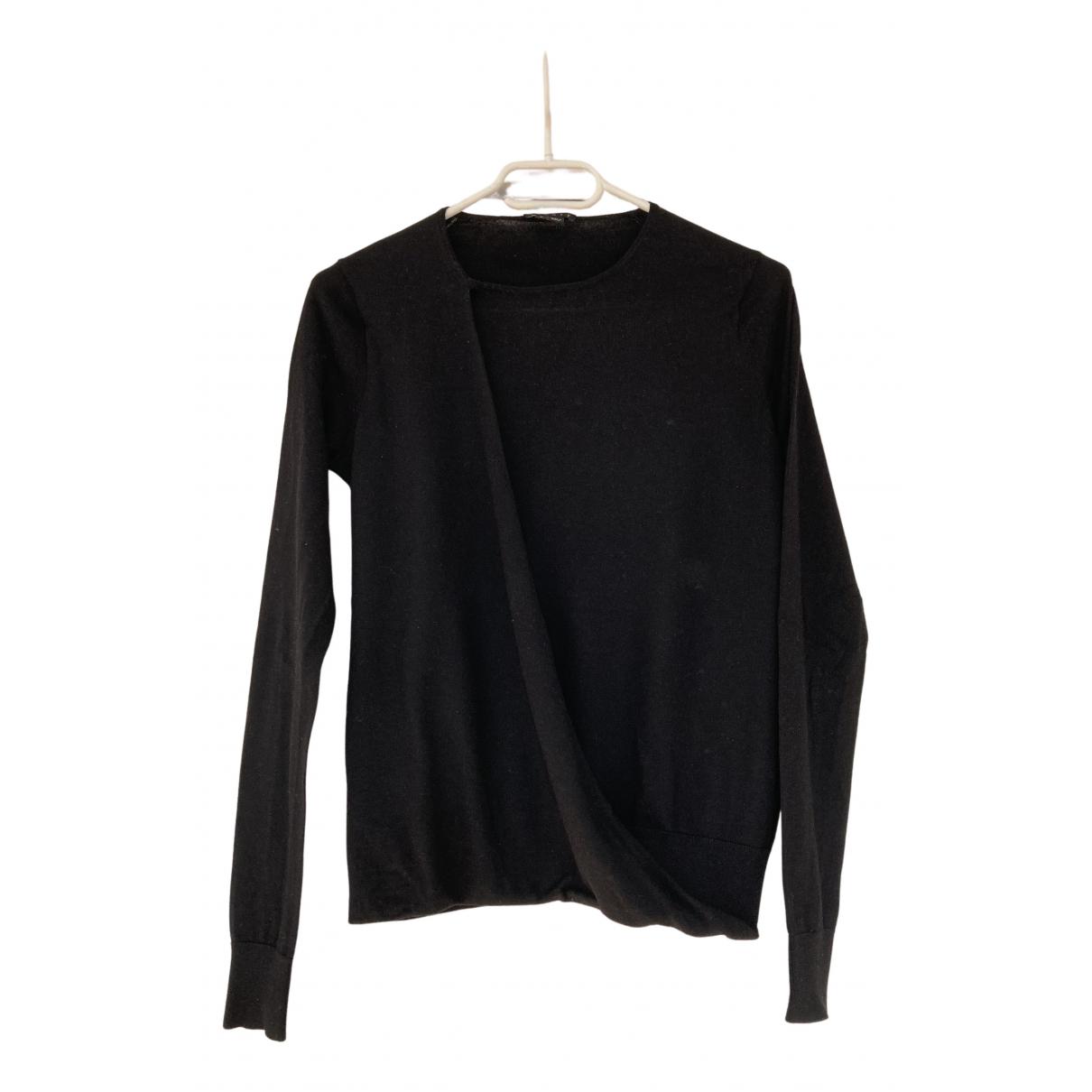 Theory N Black Wool Knitwear for Women S International