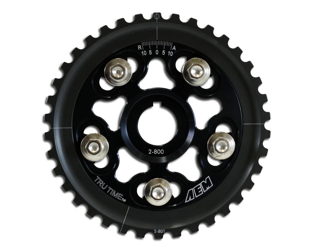 AEM Electronics 23-800BK Tru-Time Cam Gears Black 23-800BK Honda