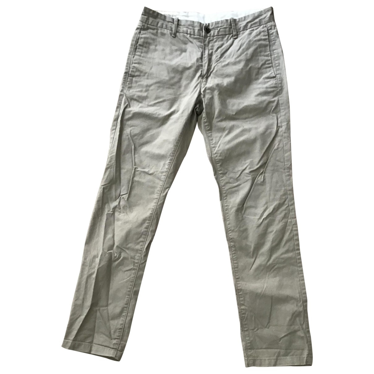 Levi's \N Beige Cotton Trousers for Men 30 UK - US