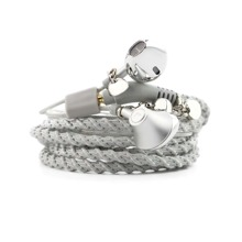 1pc Braided Bracelet In-ear Headphone