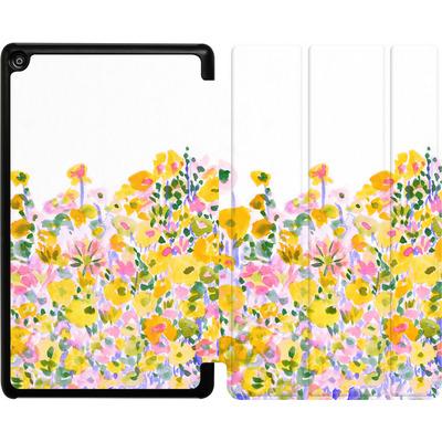 Amazon Fire HD 8 (2017) Tablet Smart Case - Flower Fields Sunshine von Amy Sia