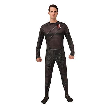Star Trek Mens Klingon Dress Up Costume Costume, X-large , Black
