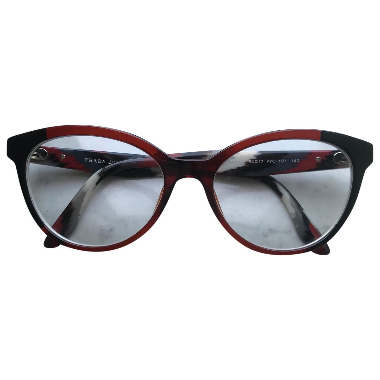 Prada \N Sonnenbrillen in  Bunt Kunststoff