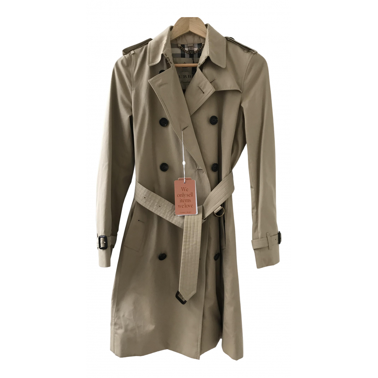 Burberry \N Trench in  Beige Baumwolle