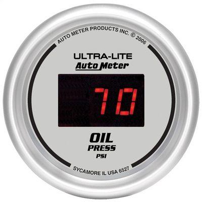Auto Meter Ultra-Lite Digital Oil Pressure Gauge - 6527