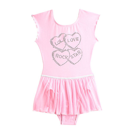 Jacques Moret Jacques Moret Inc Moret Kids Big Sleeveless Dance Dress, X-small , Pink