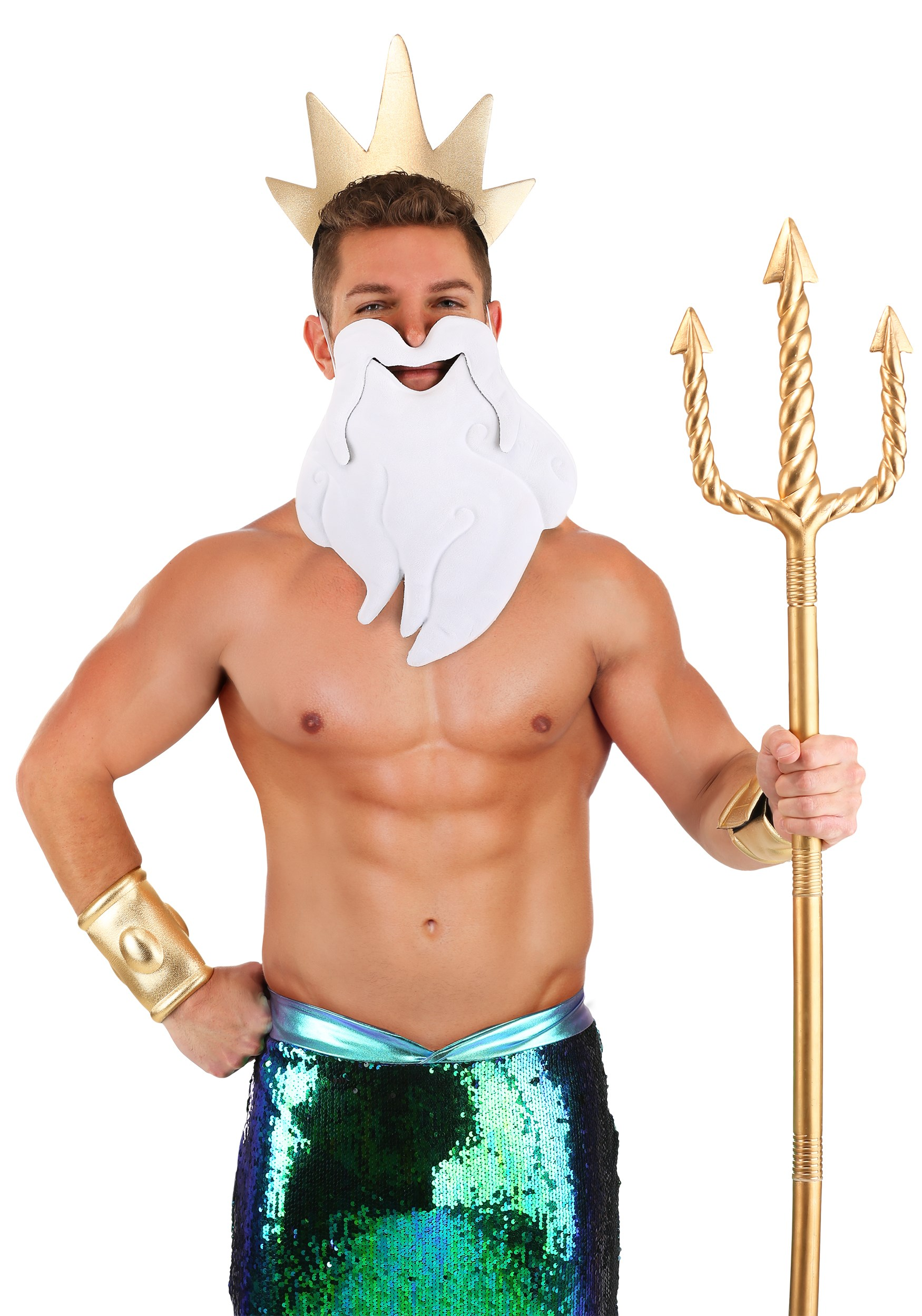 King Triton Costume Kit The Little Mermaid