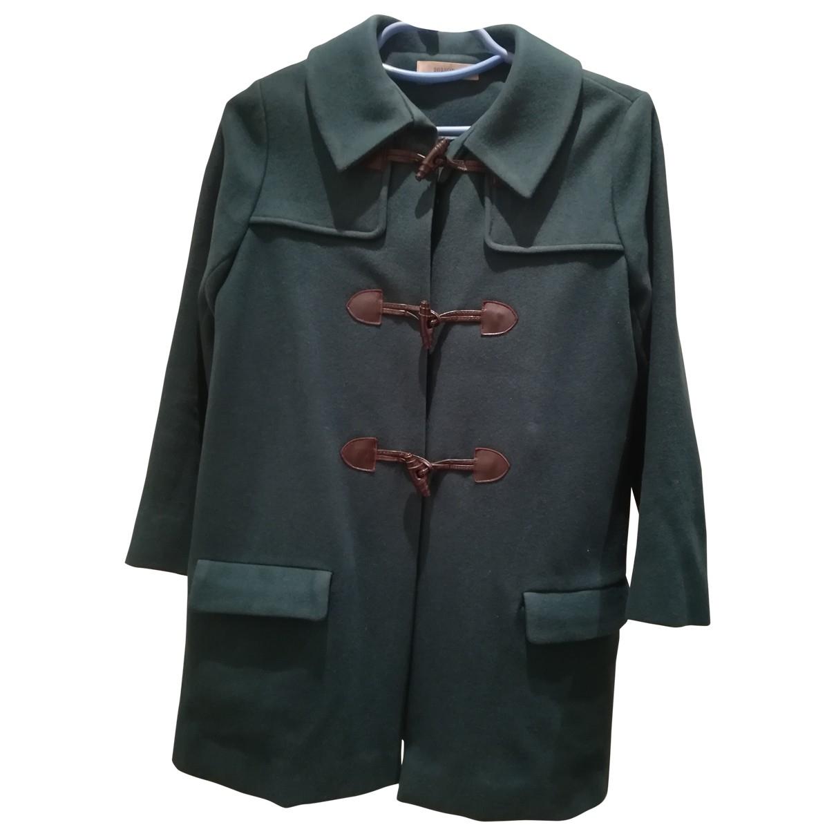 Sessun - Manteau   pour femme en laine - vert