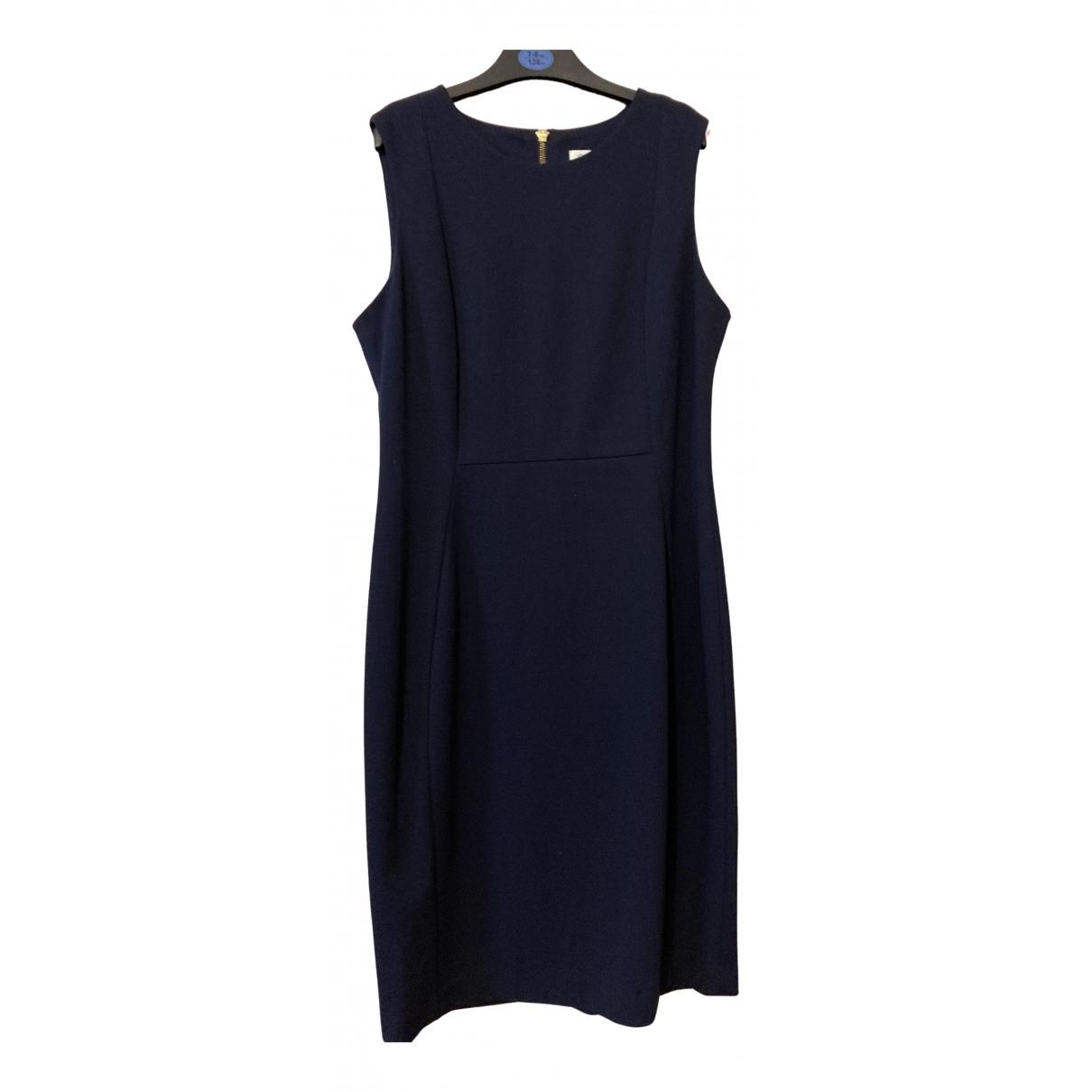 Calvin Klein \N Kleid in  Blau Baumwolle - Elasthan