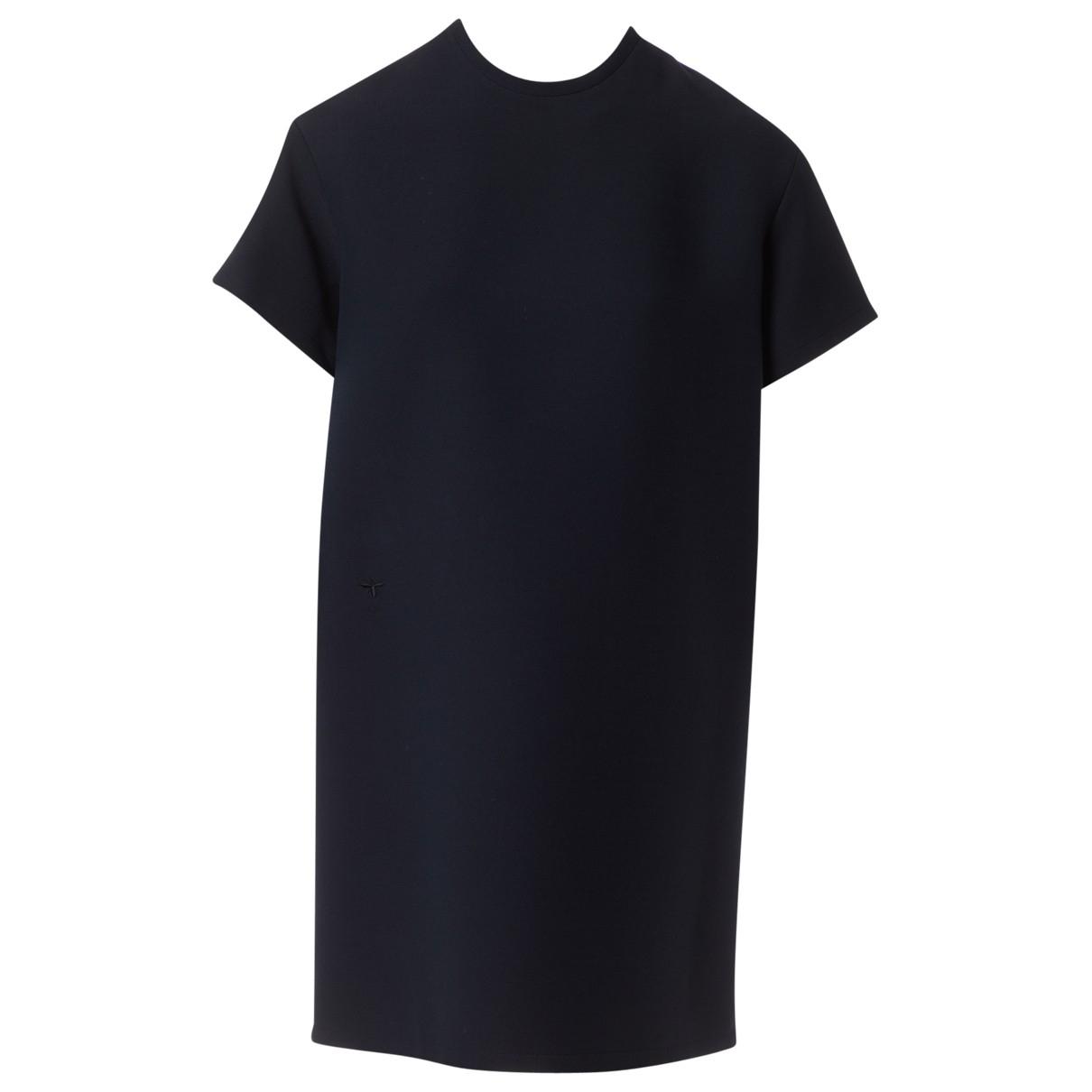Dior \N Kleid in  Anthrazit Wolle
