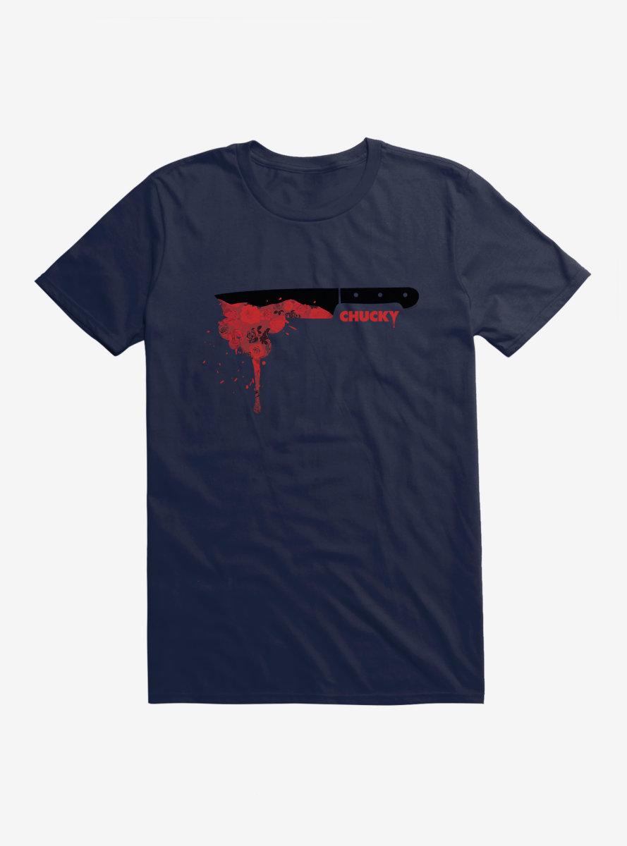 Chucky Red Rose Knife T-Shirt