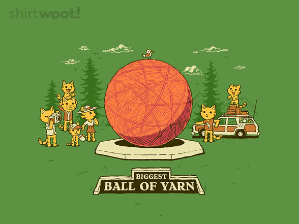 Greetings From The Yarn Ball T Shirt