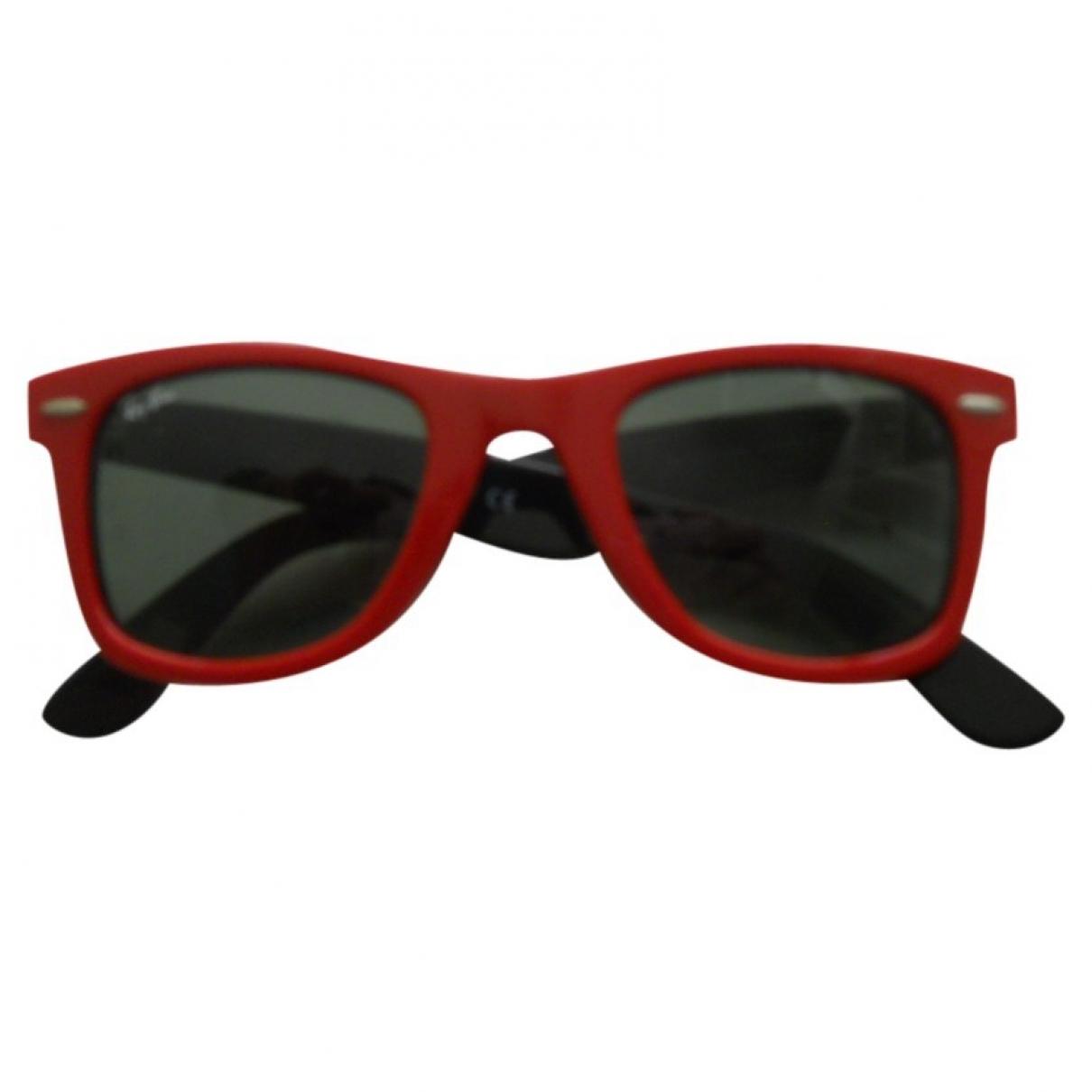 Ray-ban - Lunettes Original Wayfarer pour femme - rouge