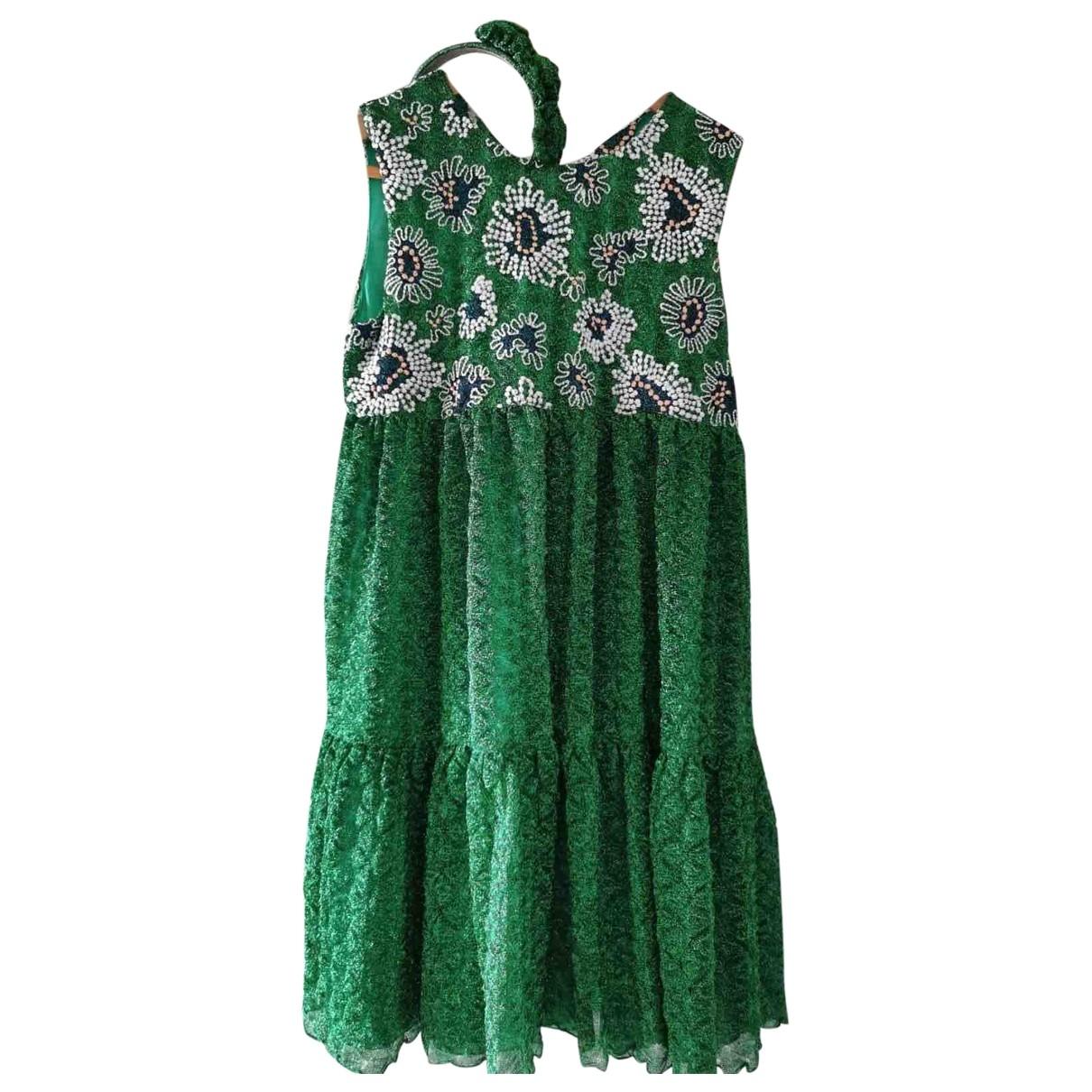 Missoni \N Kleid in  Gruen Mit Pailletten