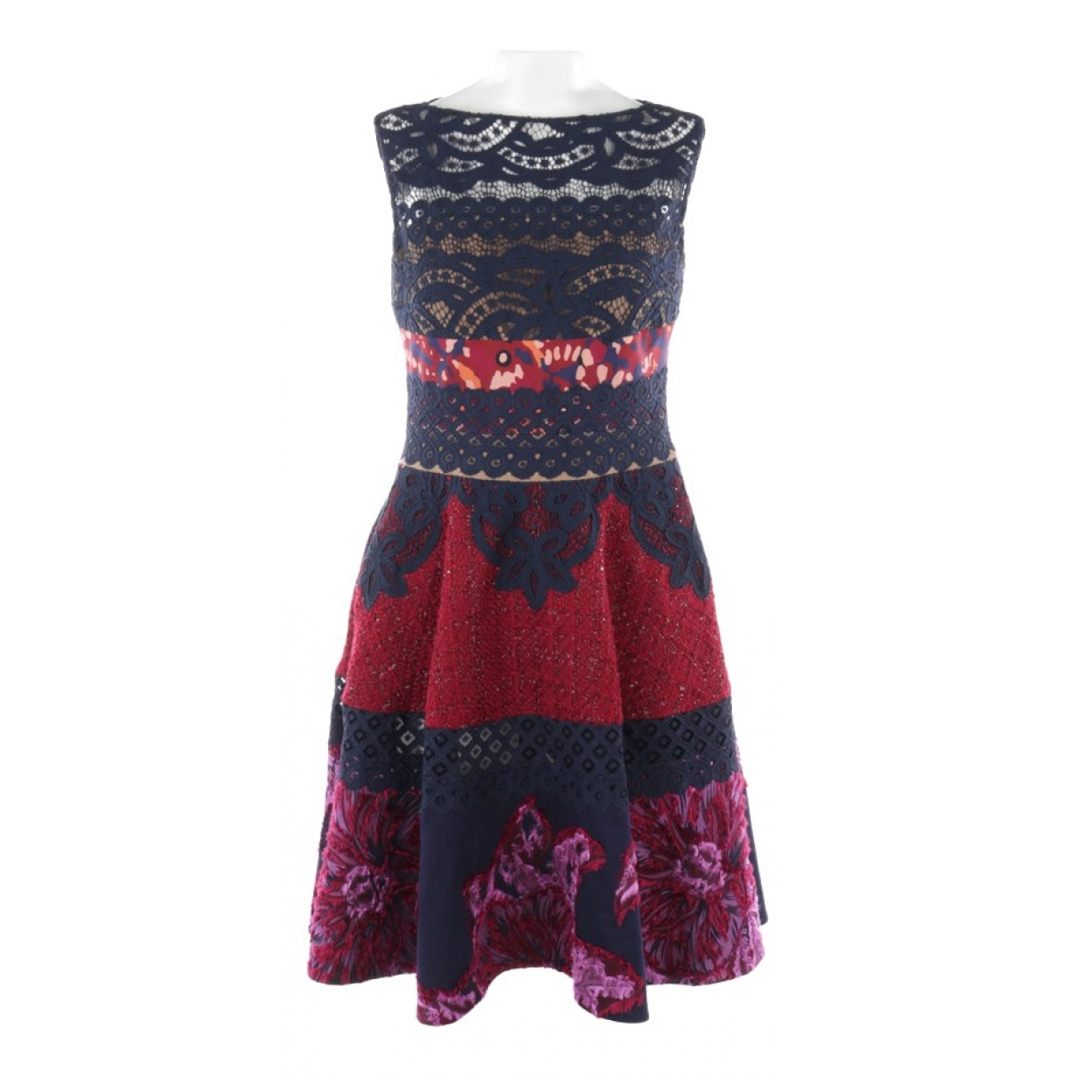 Talbot Runhof \N Multicolour Cotton dress for Women XS International