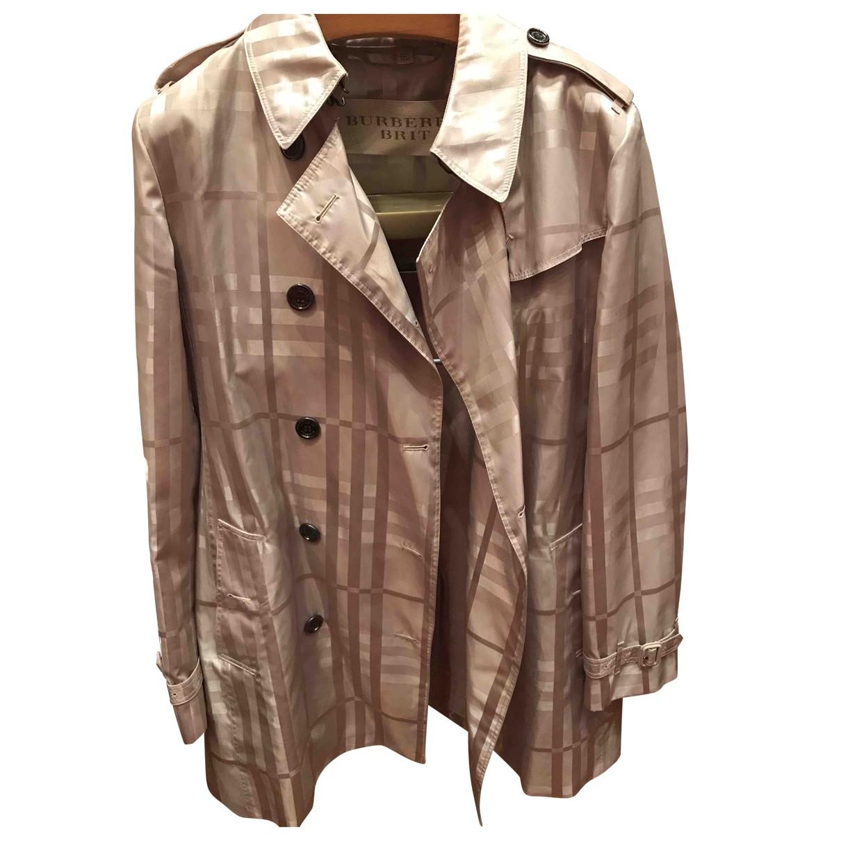 Burberry \N Beige Trench coat for Women 14 UK