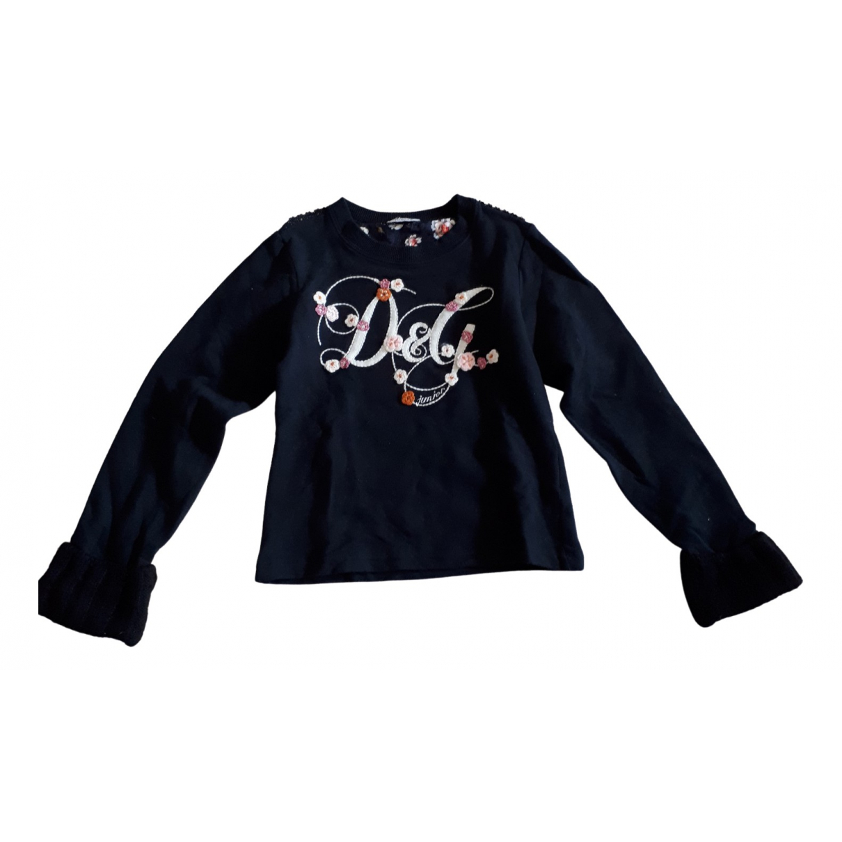 D&g \N Black Cotton Knitwear for Kids 8 years - up to 128cm FR