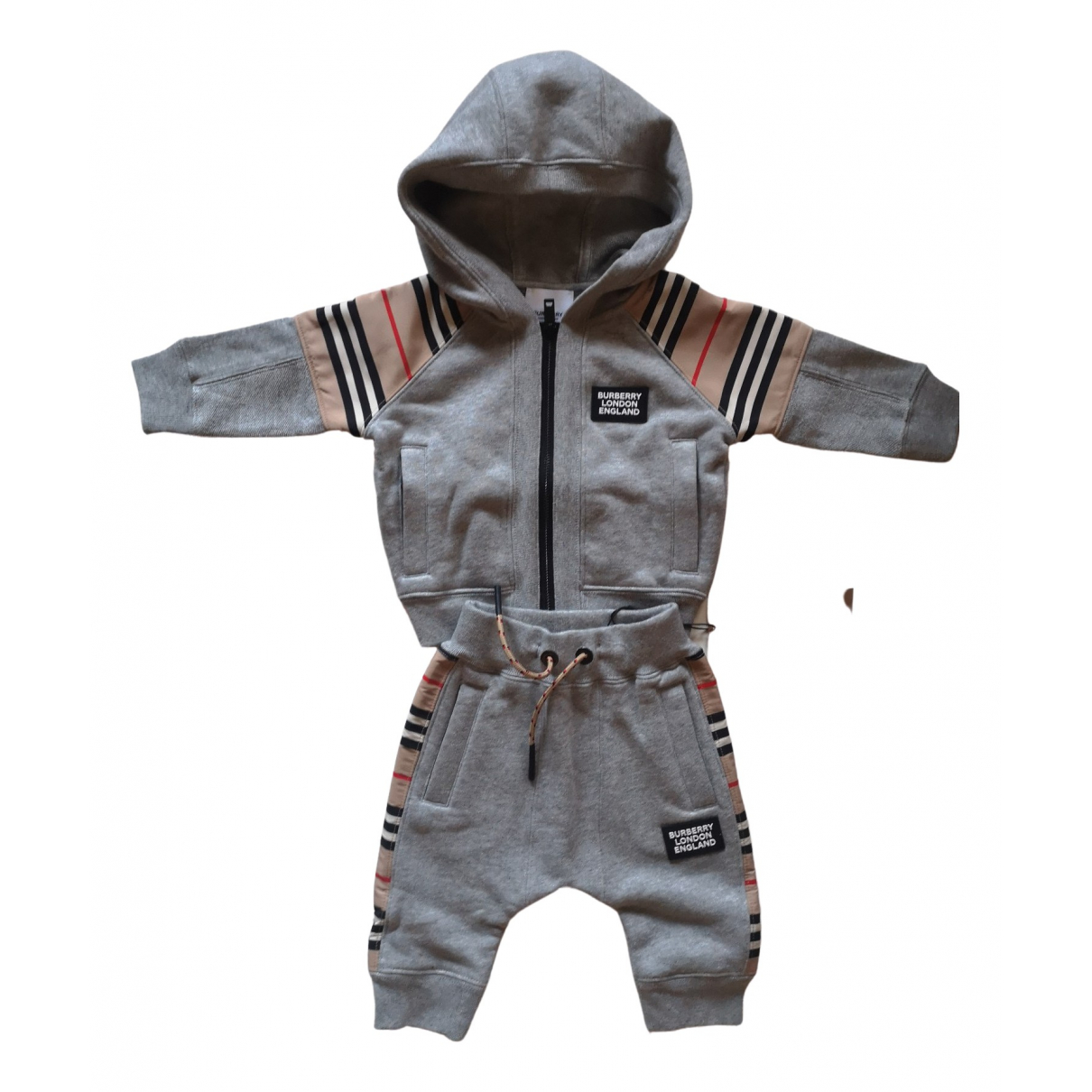 Burberry \N Grey Cotton Outfits for Kids 6 months - up to 67cm FR