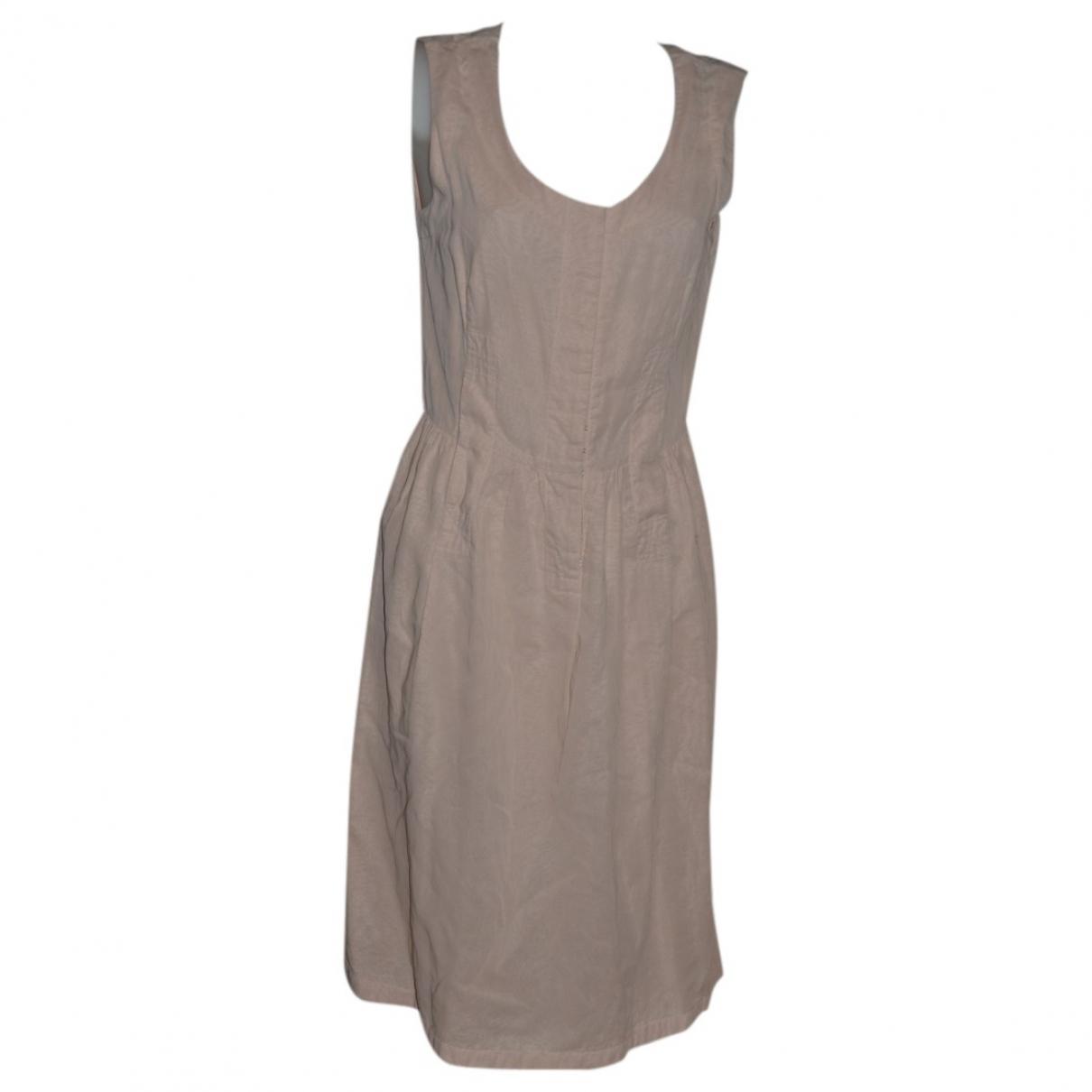 Jil Sander \N Kleid in  Rosa Baumwolle