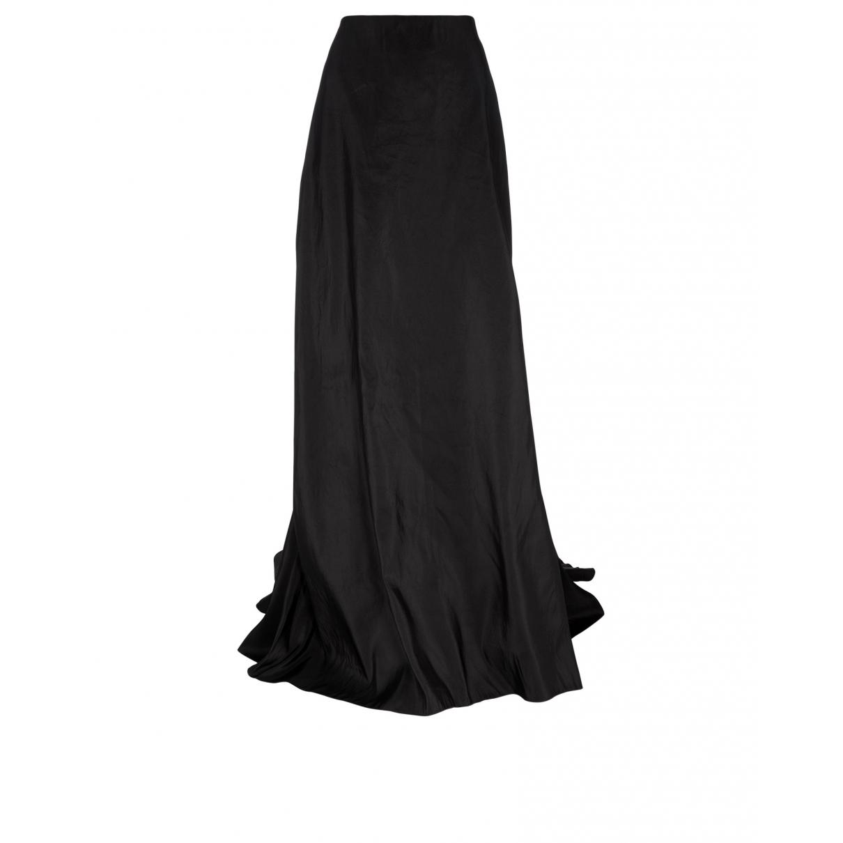 Lanvin \N Black Silk skirt for Women 16 UK