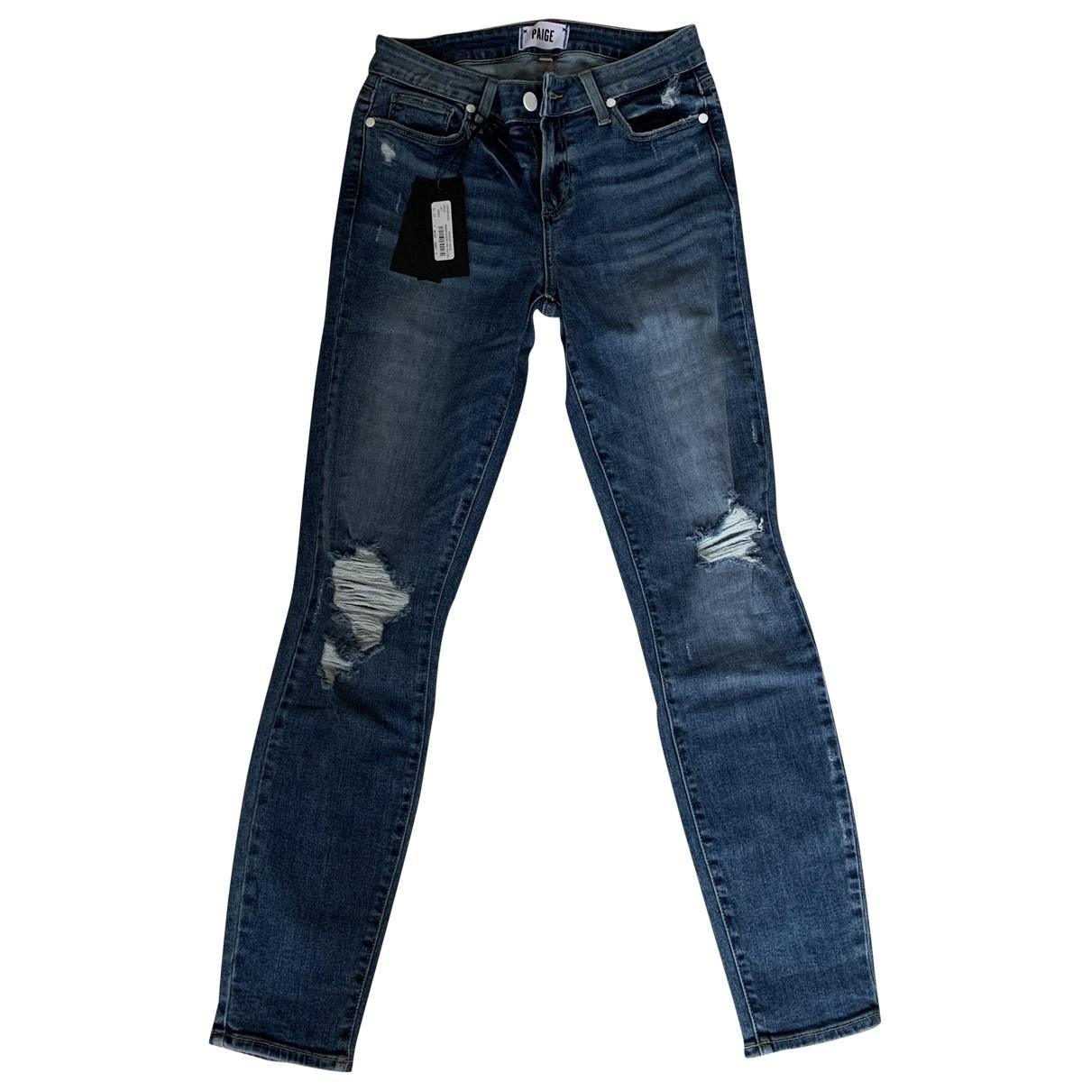 Paige Jeans \N Jeans in  Blau Denim - Jeans