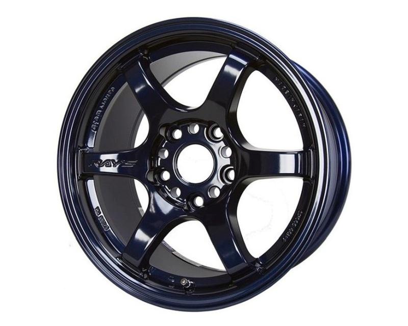 GramLights WGIE35AD 57DR Wheel 15x8 4x100 35mm Dark Blue