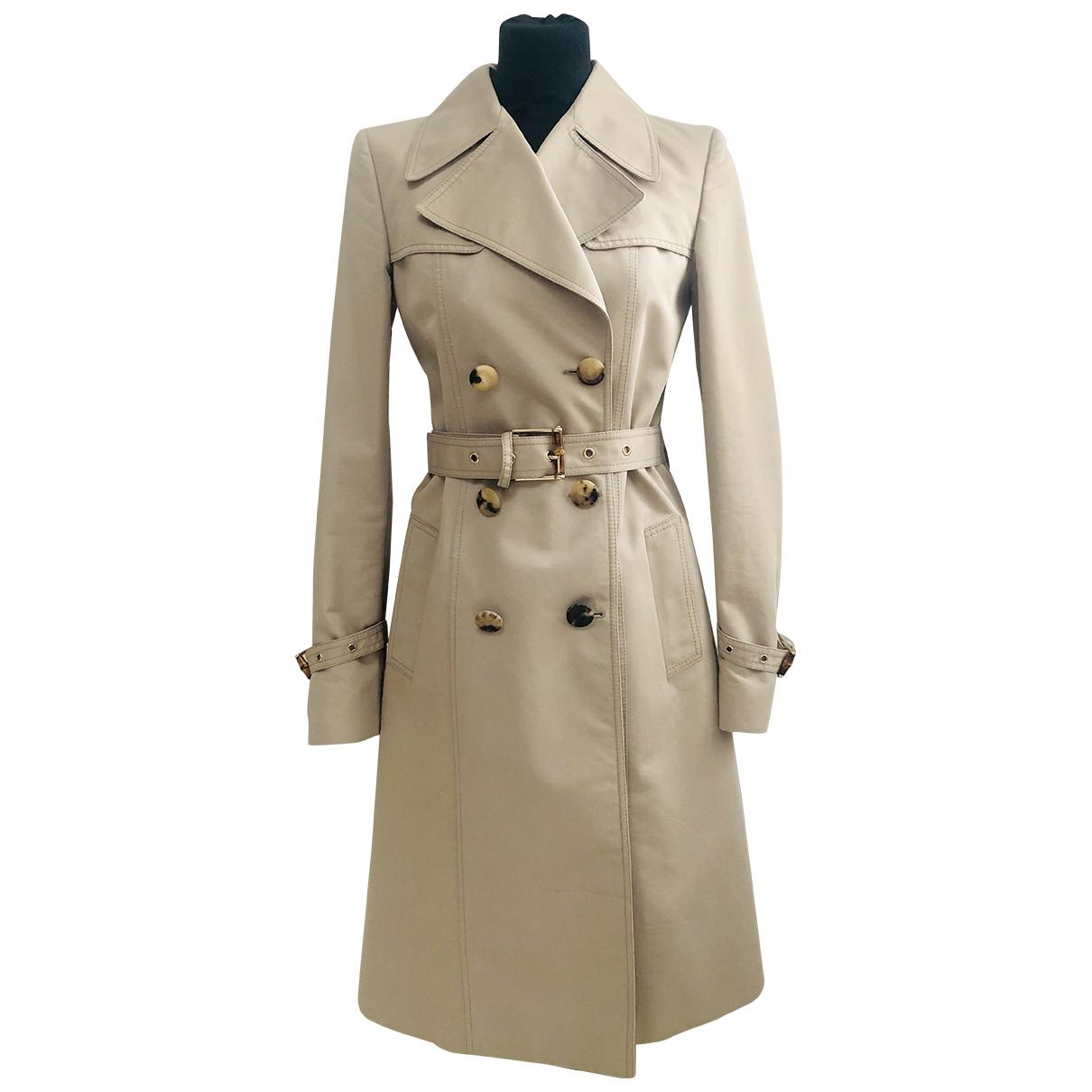 Gucci N Beige Cotton coat for Women 40 IT