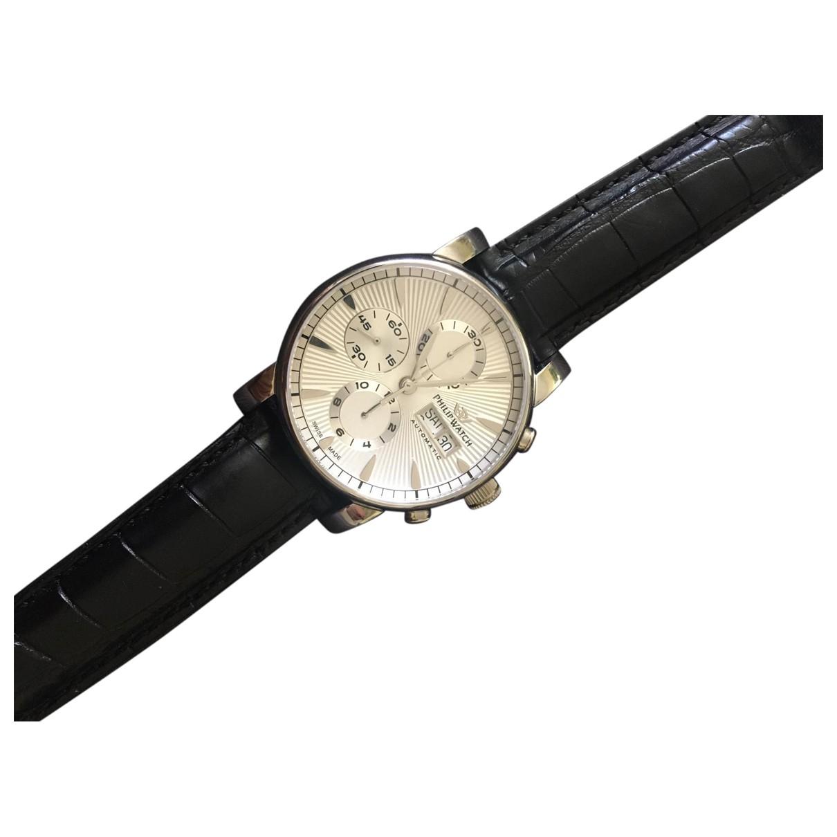 Philippe Watch N Silver Steel watch for Men N