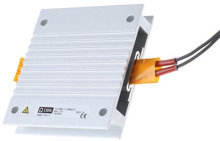 DBK Enclosures Enclosure Heater, 40W, 100 → 240 V ac, 75mm x 80mm x 15mm