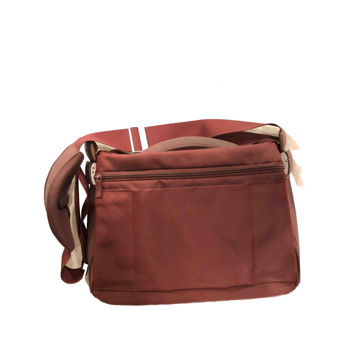 Non Signé / Unsigned \N Burgundy Cloth Travel bag for Women \N