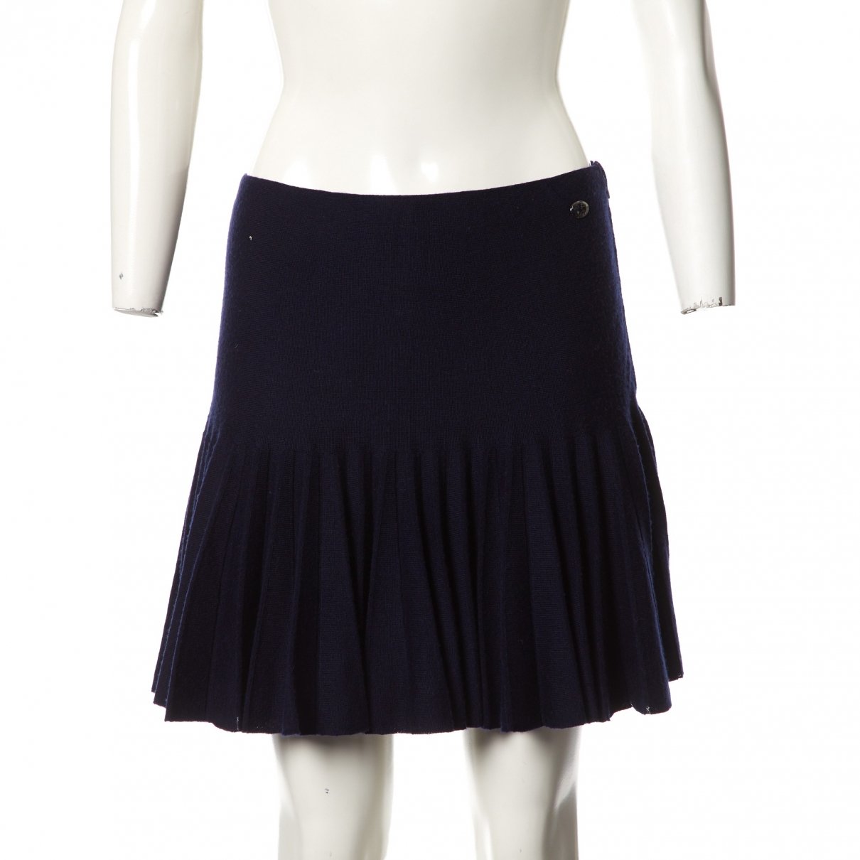 Chanel \N Navy Wool skirt for Women 38 FR