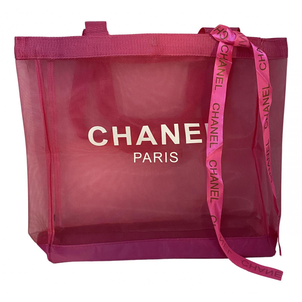Bolso de mano en Sintetico Rosa Chanel