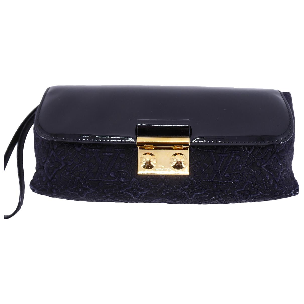 Louis Vuitton \N Black Denim - Jeans Clutch bag for Women \N
