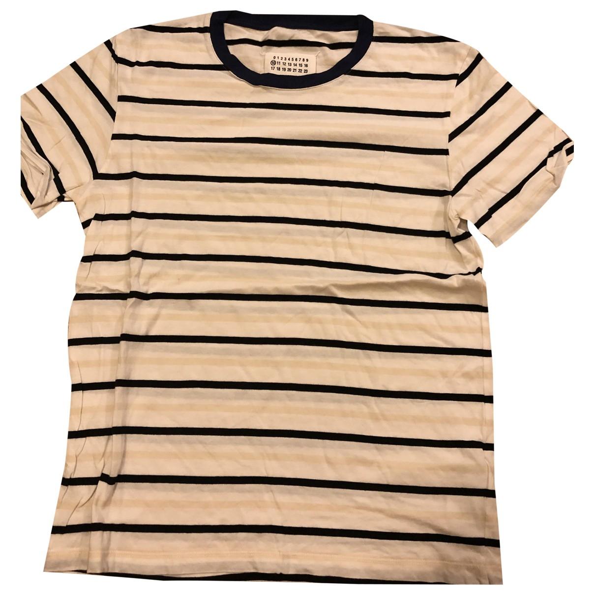 Maison Martin Margiela - Tee shirts   pour homme en coton - blanc