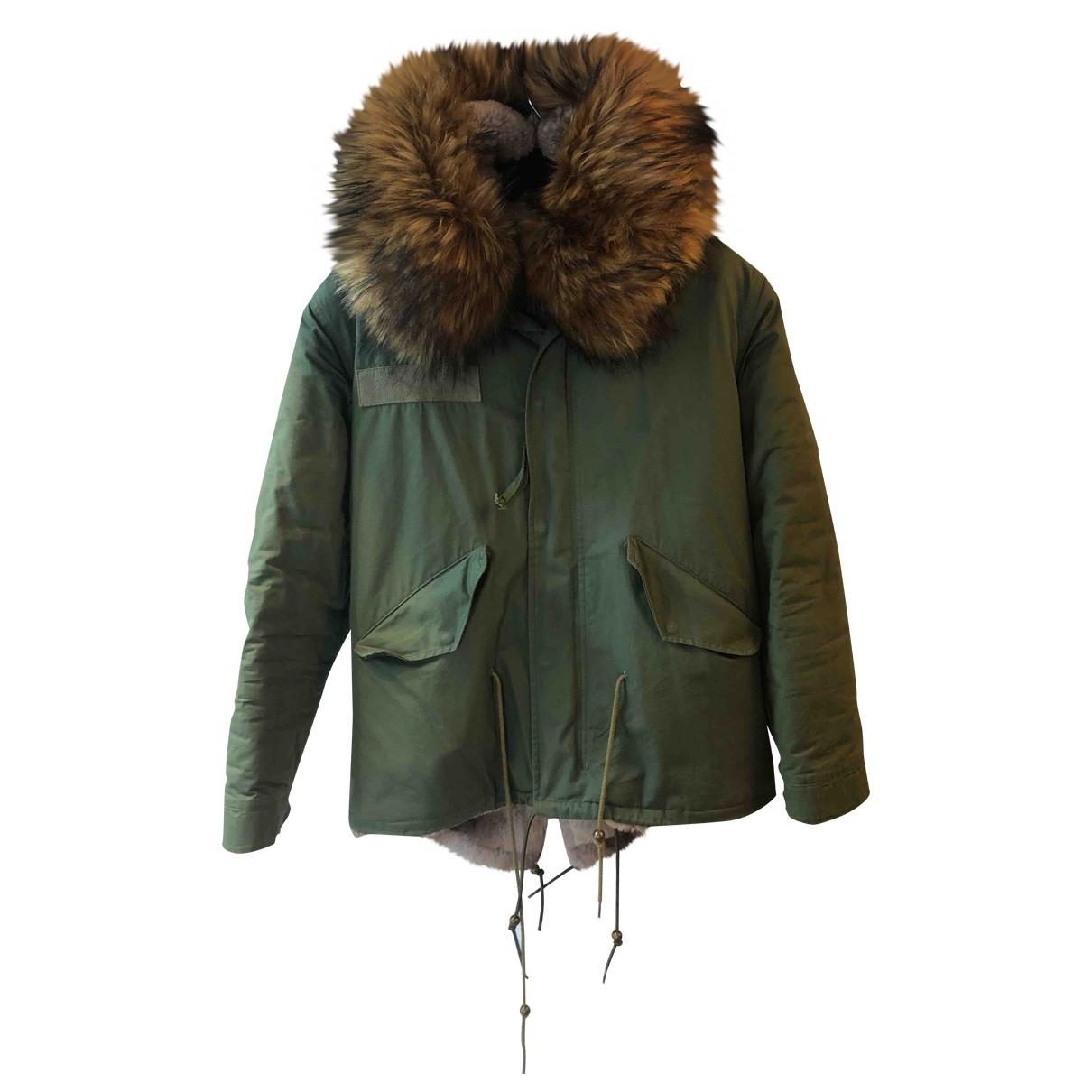 Jane & Tash Bespoke \N Khaki Faux fur coat for Women S International